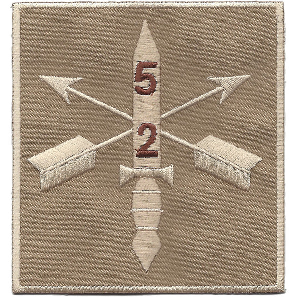 2nd Battalion 5th Special Forces Group Combat Helmet Desert Patch