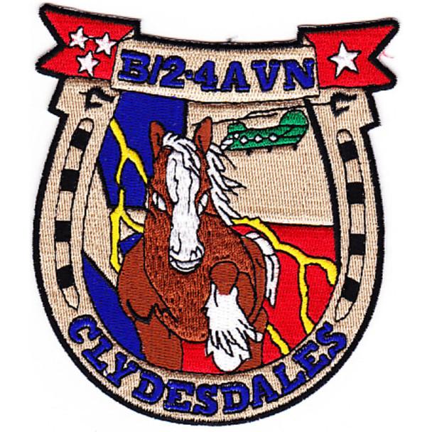 2nd Battalion 4th Aviation Regiment B Company Patch
