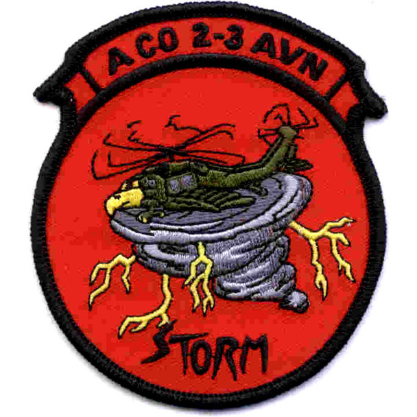 2nd Battalion 3rd Aviation Regiment A Company Patch