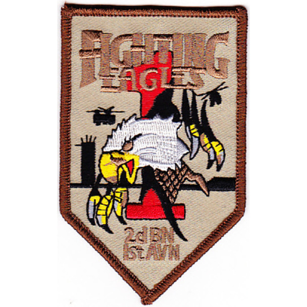 2nd Battalion 1st Aviation Regiment Patch