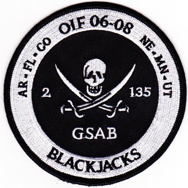 2nd Battalion 135th Aviation Regiment General Aviation Support Battalion Patch