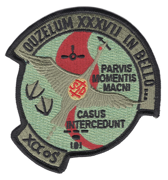 1st SOS Special Operations Squadron Patch Goose 37