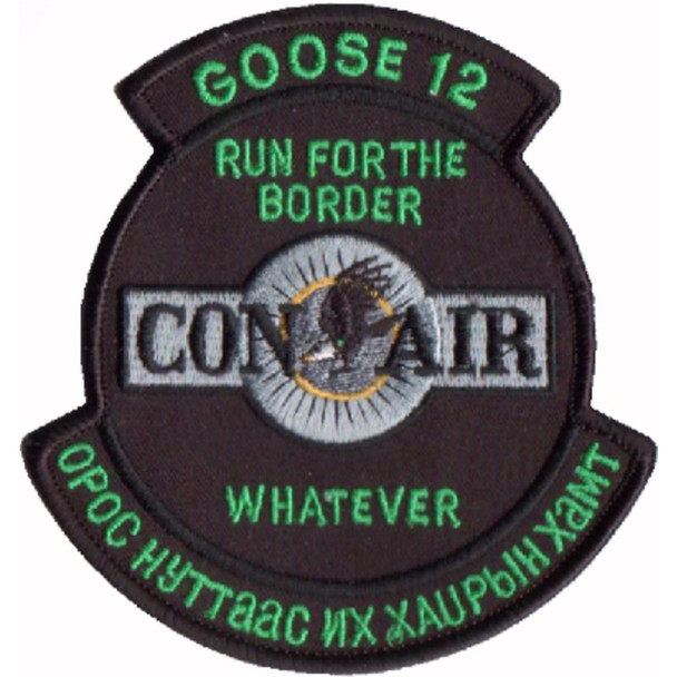 "1st SOS G-12 Con Air ""Green"" Patch"