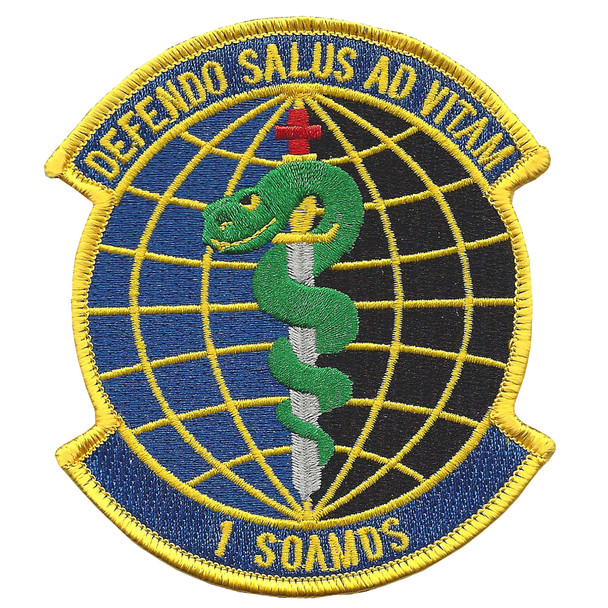 1st SOAMDS Special Operations Areospace Medicine Squadron Patch