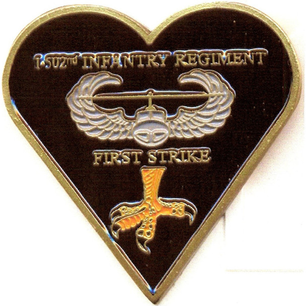 1st Battalion 502nd Airborne Infantry Regiment Patch