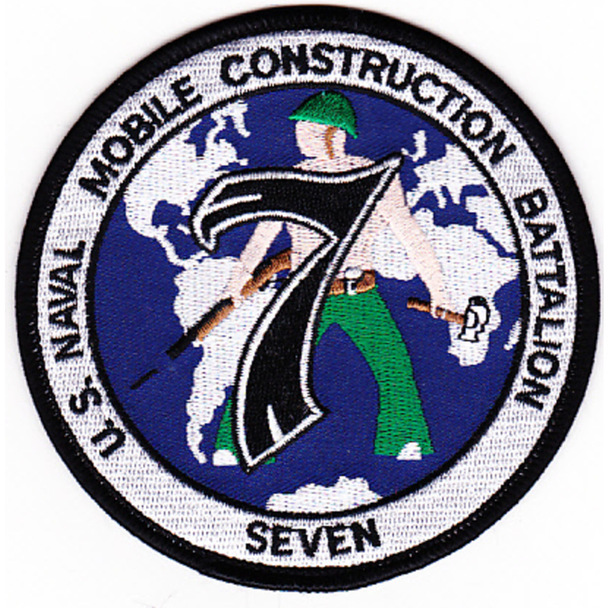 7th Mobile Construction Battalion Patch