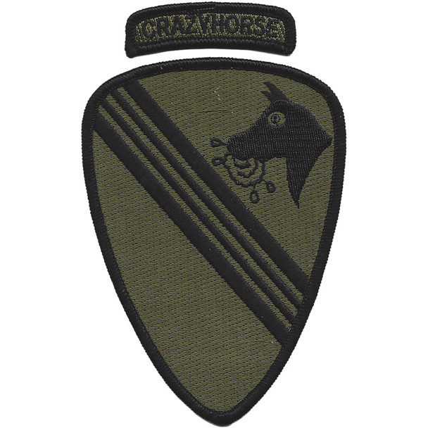 1st Battalion 227th Aviation Regiment Patch Crazyhorse