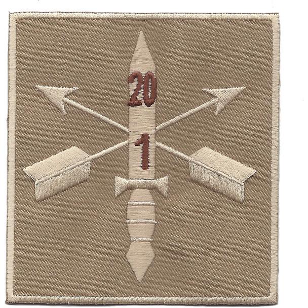 1st Battalion 20th Special Forces Group Helmet Desert Patch