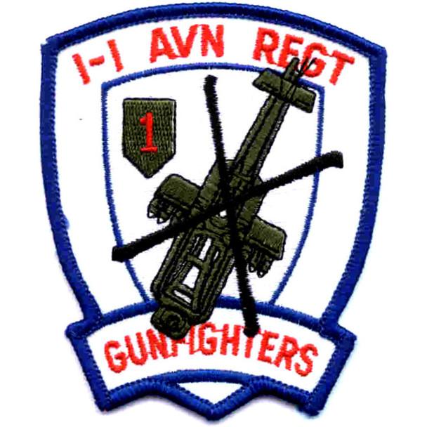 1st Battalion -1st Aviation Regiment Patch