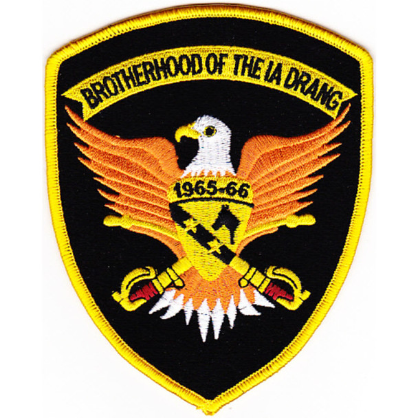 1st Air Cavalry Division Patch Brotherhood Of The Ia Drang