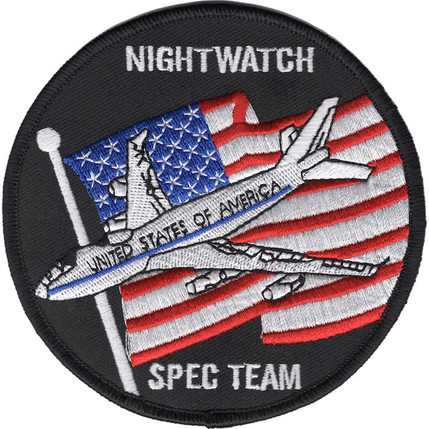 1st Airborne Command And Control Squadron Nightwatch Spec Team Patch
