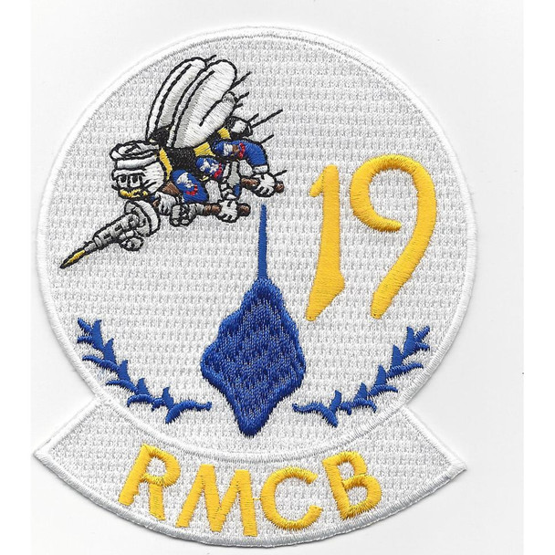 19th Reserval Mobile Construction Battalion Patch