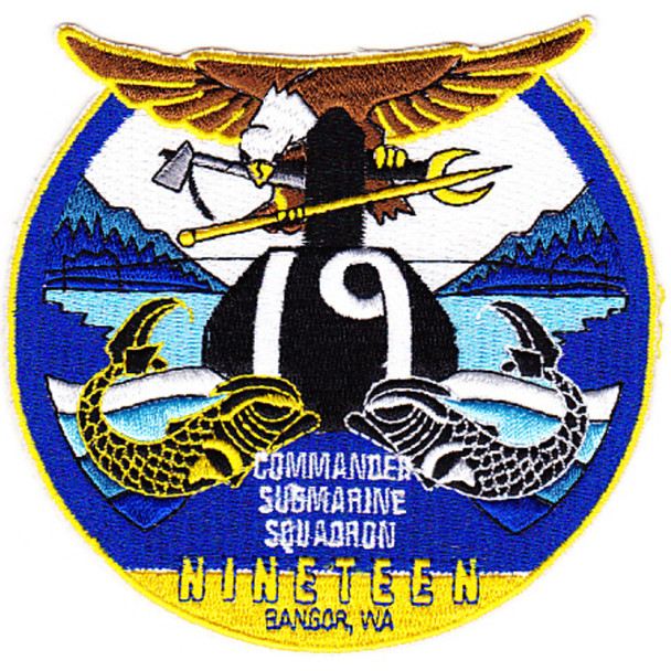 19th Commander Submarine Squadron Patch