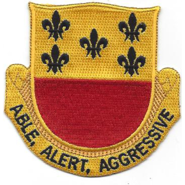196th Armor Cavalry Regiment Patch