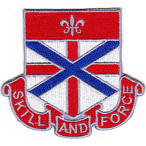 192nd Chemical Battalion Patch