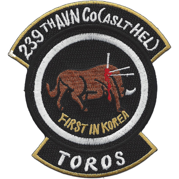 239th Aviation Company Assault Helicopter Patch