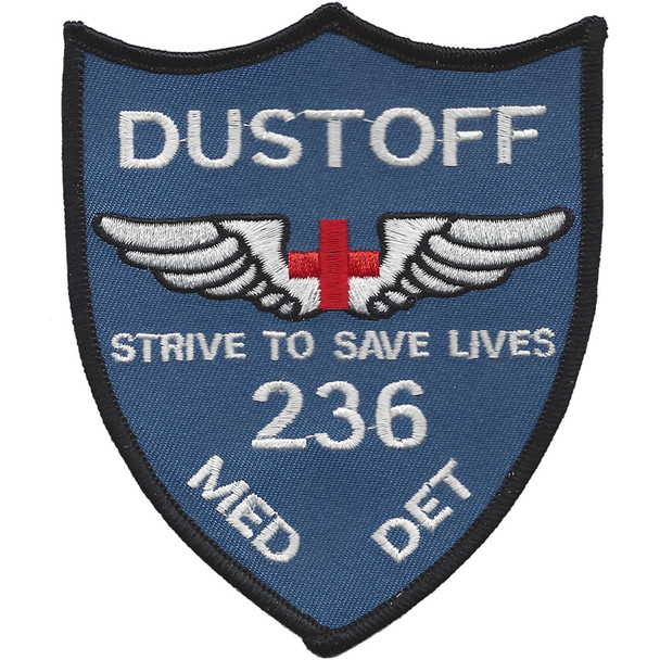 236th Aviation Medical Detachment Patch (Blue)