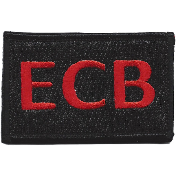 22nd Training Squadron ECB Red Patch Hook And Loop