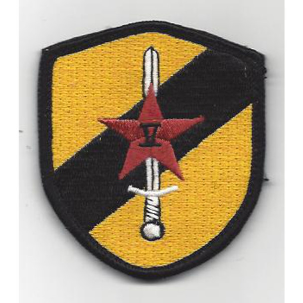 22nd SERE Training Squadron Sword And Star Patch Hook And Loop