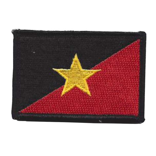 22nd SERE Training Squadron Gold Star Patch Hook And Loop