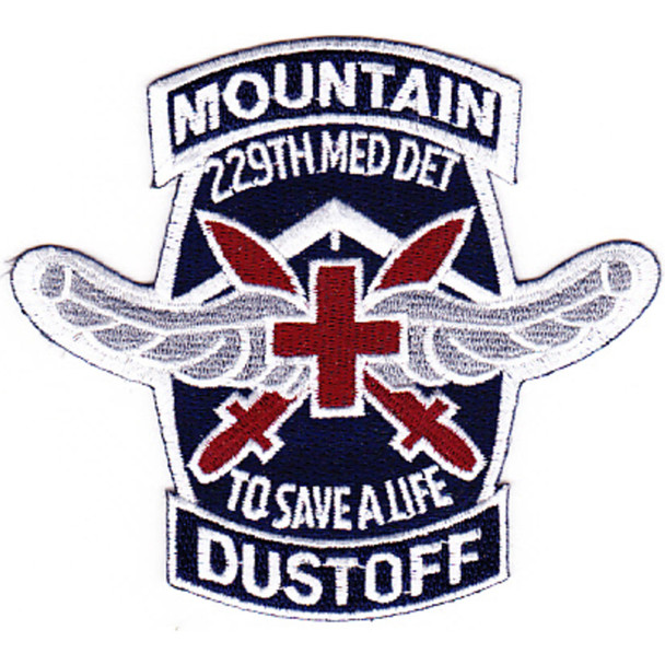 229th Aviation Medical Detachment 10th Mountain Division Patch