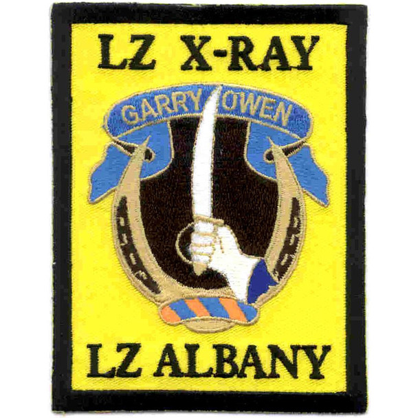 7th Cav Rgt-Lz x-ray, Lz albany