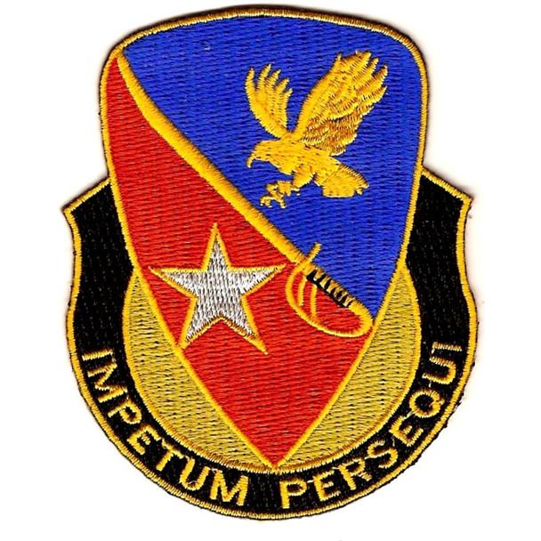 21st Cavalry Brigade Crest Patch