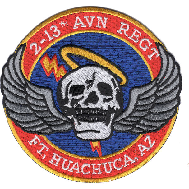 2-13th Aviation Regiment Patch
