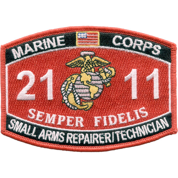 2111-Small Arms Repairer Technician MOS Patch