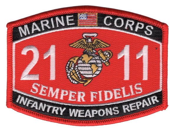 2111 Infantry Weapons Repair MOS Patch