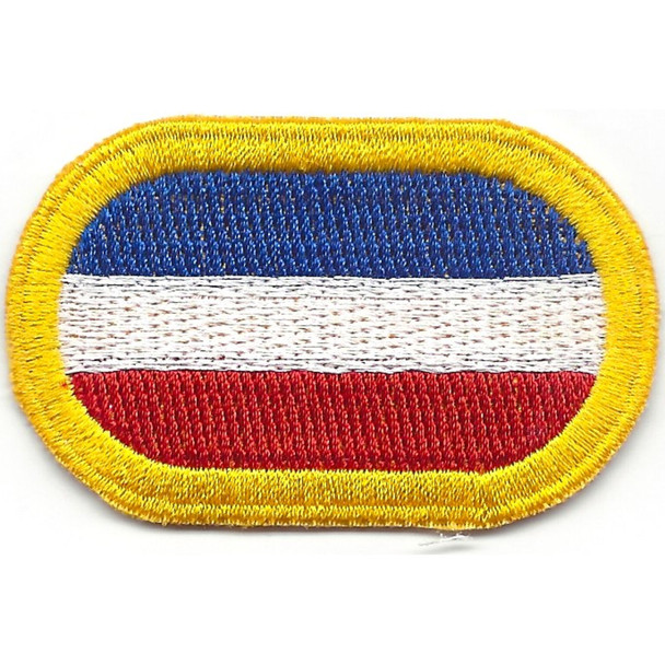 20th Special Forces Group Airborne Para Yellow Oval Patch