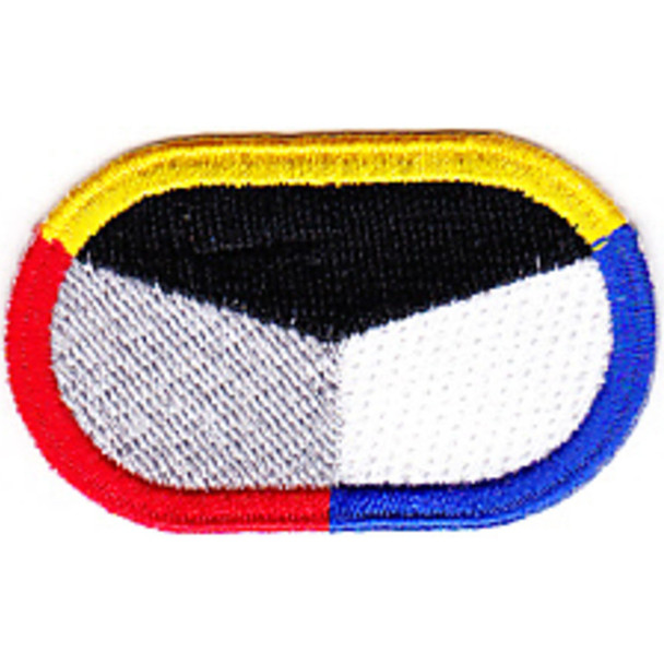 18th Psychological Airbrone Operations Cammand Patch Oval