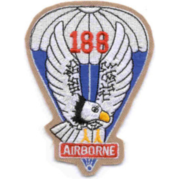 188th Airborne Infantry Regiment Patch - Version A
