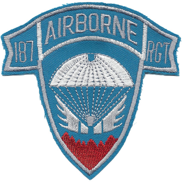 187th Airborne Infantry Regiment Patch - Korea