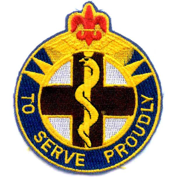 176th Medical Battalion Patch