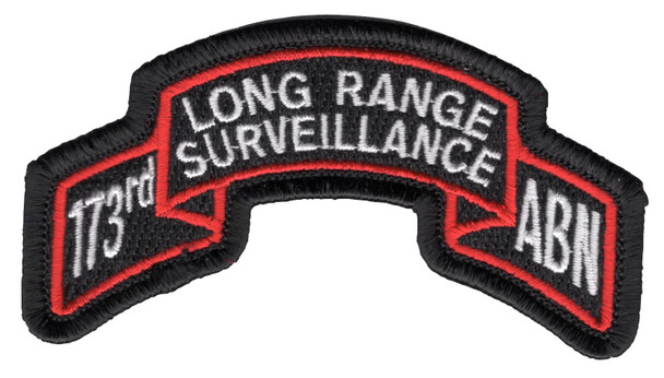 173rd LRS Airborne Infantry Patch