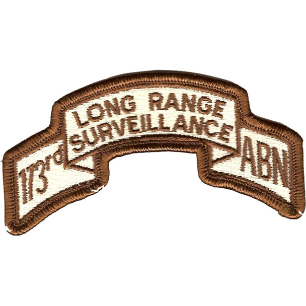 173rd LRS Airborne Infantry Desert Patch