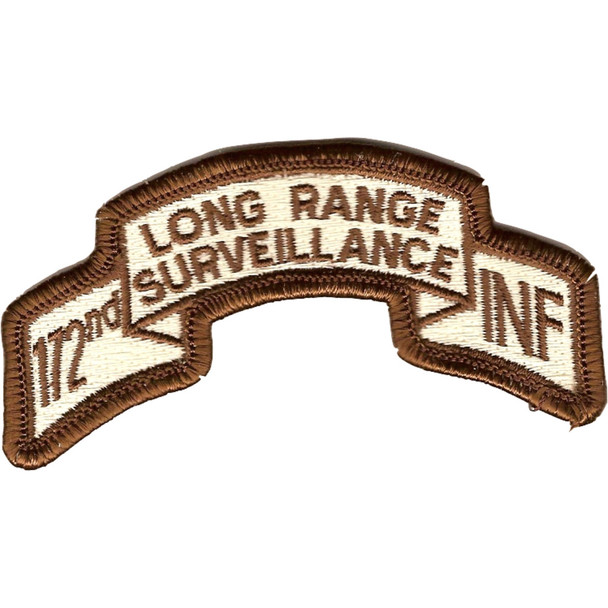 172nd Infantry Long Range Desert Patch