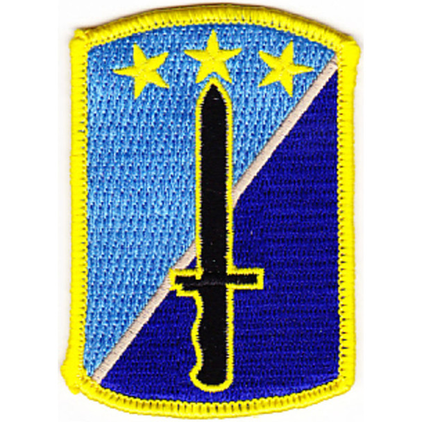 170th Infantry Brigade Patch