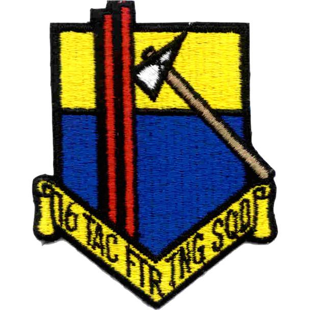 16th TAC FTR TNG SQD Patch