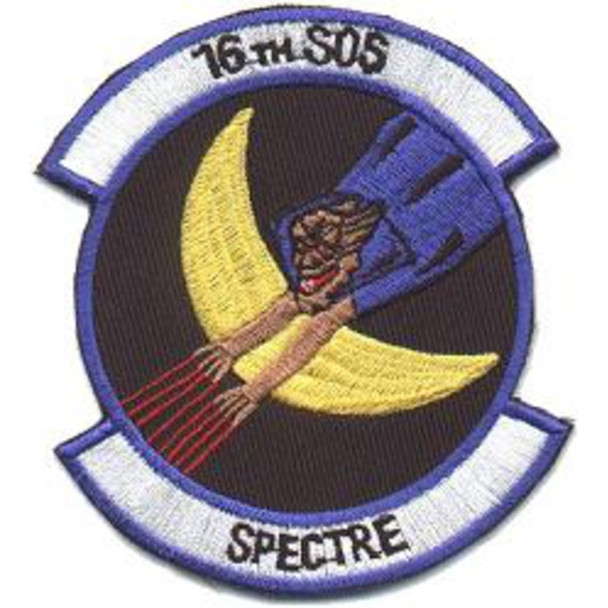 16th Special Operations Squadron AC-130H Spectre Patch