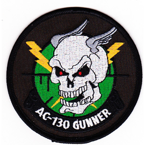 16 SOC Lockheed AC-130 Hercules Gunship Patch