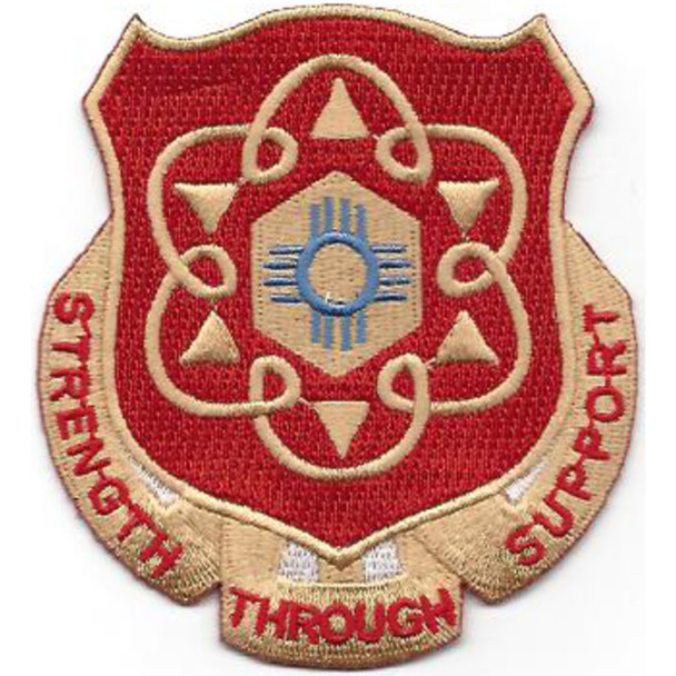 167th Support Battalion Patch