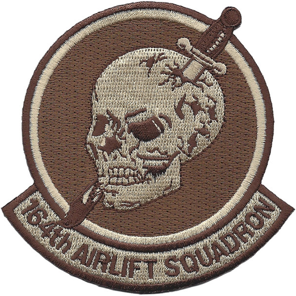 164th Airlift Squadron Desert Patch