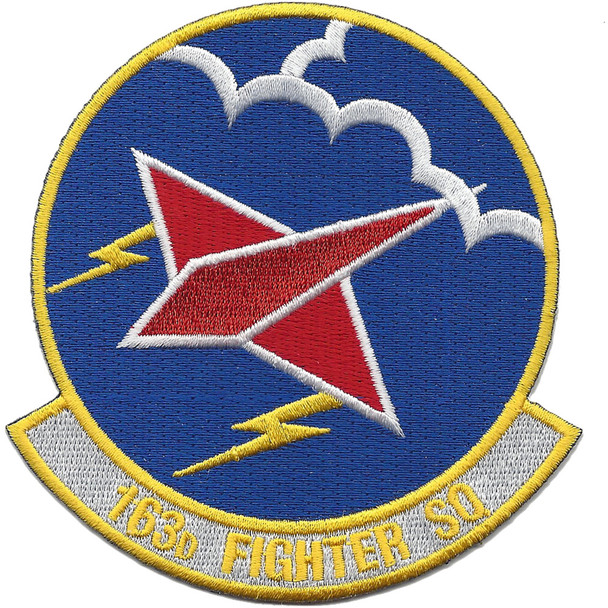 163rd Fighter Squadron A-10 Patch