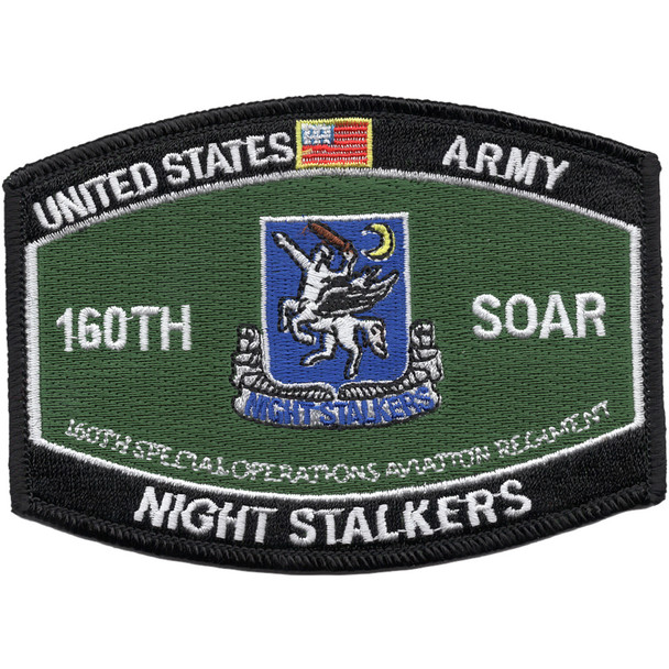 160th Special Operations Aviation Regiment MOS Rating Patch Night Salkers