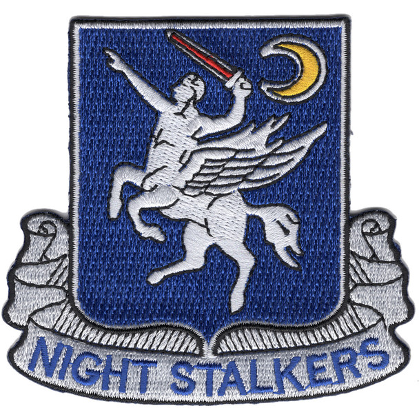 160th SOAR 101st Airborne Division Patch Night Stalkers