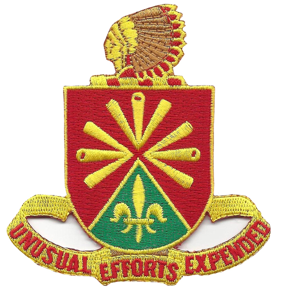 158th Field Artillery Regiment Patch