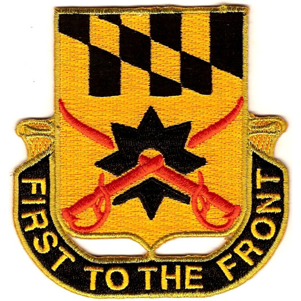 158th Cavalry Regiment Patch