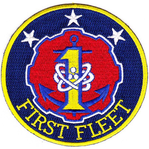 1st Fleet Patch Insignia